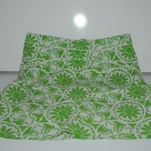 Green and White Skirt by Lilly Pulitzer Size 14